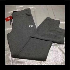 NWT Nike modern sweatpants gray medium